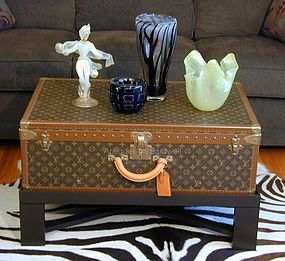 Louis Vuitton Coffee Table Trunk - PRISTINE!