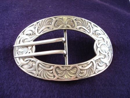 Signed Art Nouveau Buckle