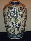 BEAUTIFUL LATE 19TH CENTURY IRANIAN QAJAR STONEWARE JAR