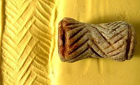Ancient Seal Sumerian Uruk Period