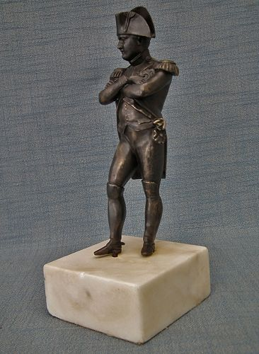 Antique Napoleon Bonaparte Bronze Figure Sculpture 19th