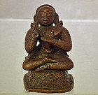 Antique 17th – 18th Century Indian Bronze Figure of a Hindu