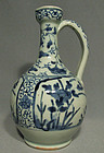 Antique Japanese Arita Porcelain Ewer, 17th century
