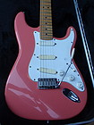 Fender Stratocaster plus electric guitar rare color