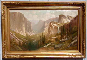 Fredric Schafer Yosemite Valley Inspiration Point
