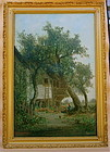 Ransome Holdredge French farm house landscape