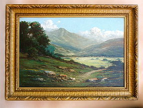 California Impressionist Mt Tamalpais DeTreville