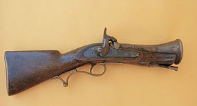 English Royal Navy Blunderbuss gun percussion