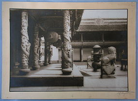 Chinese imperial Temple Sam Sanzetti Photograph
