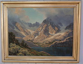 Leland Curtis High Sierra Lake California Art