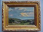 Anna Althea Hills California Impressionist Oil Laguna