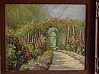 William Adam Carmel Garden California impressionist