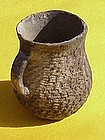 Anasazi Culture corrugated pot Native American art