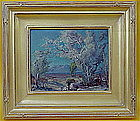 F. Grayson Sayer California Impressionist Palm Springs
