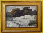 California Impressionist Landscape Harold C. Davies
