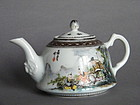 Fine Fencai Teapot by Nie Xing Sheng - Republic Period