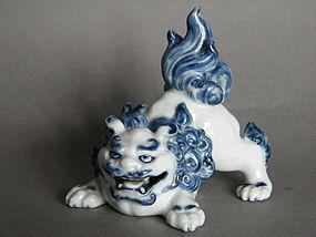 Japanese Arita Lion Shishi - Meiji period (1868-1911)