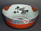 19th Century Japanese Arita  Imari Porcelain Bowl