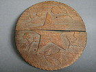 Shipping Commemorative Wood Plaque  Mary Moore 1887