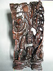 Fine & Rare 18th/19th Century Carved Hardwood Sculpture - Hehe Erxian