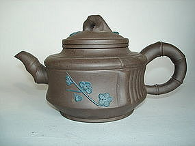 Chinese Yixing Stoneware Teapot - 20th Century