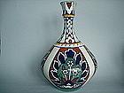 Rare 1920s Bursley Ware vase, Bagdad-Frederick Rhead