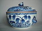 Large Circular Chinese Export Tureen circa 1750