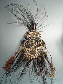Sepik River Mask - Papua New Guinea