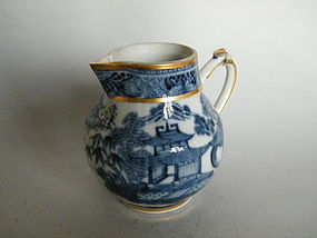 18th Century Chinese Export Stirrup Handled Cream Jug