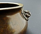 Chinese Xuande Mark Bronze Censer - 16/17th C Ming
