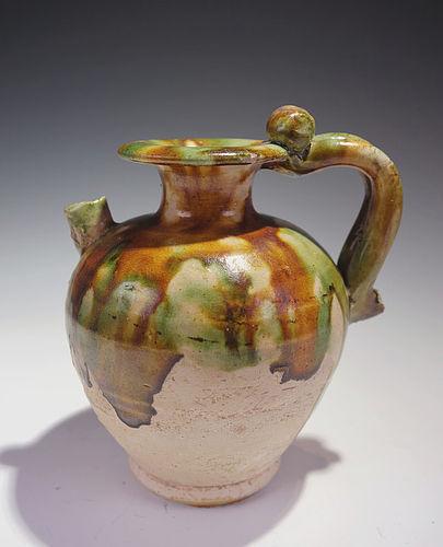 A Fine Tang Sancai Teapot Chinese Tang Dynasty Item 1352224