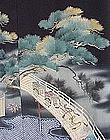 Beautiful Antique Black Kimono