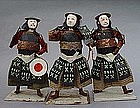 Unique Country Samurai Ningyo Dolls in Yoroi