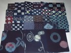 Old Japanese Textile, 26 Kasuri Fabrics