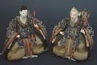 Antique Zuishin Japanese Hina Dolls