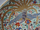 Large Imari Deep Dish, Charger with Phoenix Birds