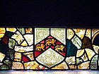 #1 of  Three Fine 19th Century Stained Glass Panels