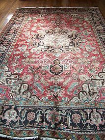 A  Handsome Persian Heriz Rug