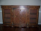 A Superb Victorian Marquetry Inlaid Credenza, 1865-1890