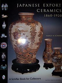 Book:  Japanese Export Ceramics 1860-1920
