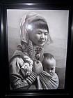 A Burmese Hyper-Realism Masterpiece by Win Nain