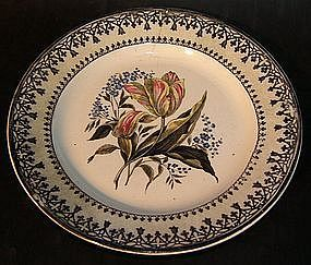 Very rare R�rstrand plate around 1825