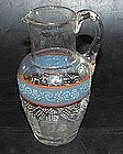 Swedish glass cream jug, around 1800