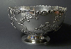 A fine silver bowl. Sing Fat. Early 20th cent.