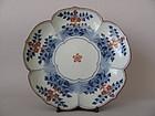 Fine Kakiemon Lotus Dish Empo c.1680 No 4