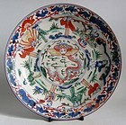 Ko Imari Shou Lao and the Eight Immortals Plate 18C