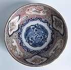 Ko Imari Dragon and Three Friends Bowl c.1750 No 1
