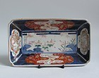 Ko Imari Dragons and Landscape Nagazara c.1740