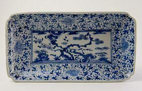 Ko Imari Shochikubai Nagazara c.1720-40