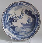 "Ai Kakiemon ""Lin Bu"" Plum Blossom viewing Dish c.1680"